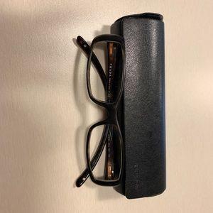 Authentic Prada eye glasses with case
